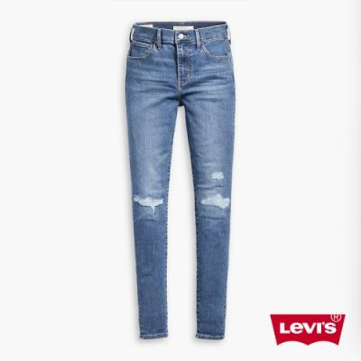 Levis 女款 720 高腰超緊身窄管 超彈力牛仔褲 保暖纖維 內刷毛