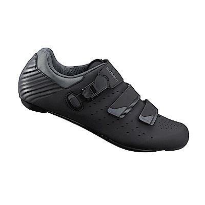 【SHIMANO】RP301 男性公路車性能型車鞋 寬楦 黑色