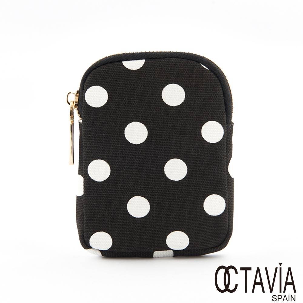 OCTAVIA8 - 第三配角 點點萬包隨身小掛包 - 點點黑