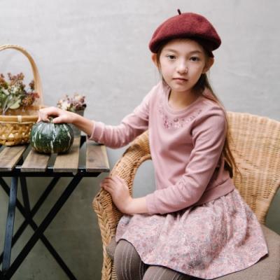 PIPPY 針織印花洋裝      粉色