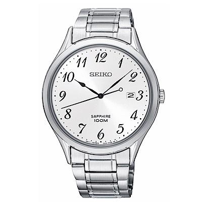 SEIKO CS時尚簡約紳士風格腕錶7N42-0FW0W/SGEH73P1