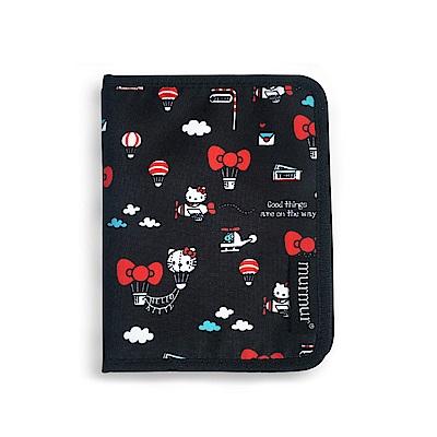 murmur護照套護照夾Hello Kitty 熱氣球
