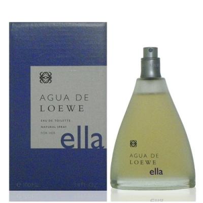 Loewe Agua Ella 活力之泉-紫女性淡香水 100ml Tester 包裝