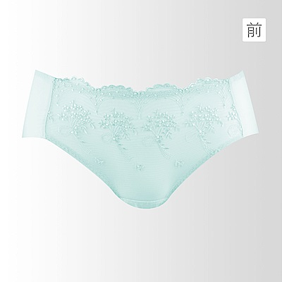蕾黛絲-美樂蒂young真水搭配平口內褲 M-L 湖水綠