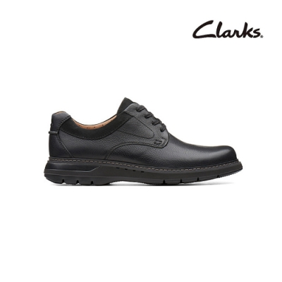 Clarks   摩登經典  Un Ramble Lo   男鞋  黑色  CLM36992SC20