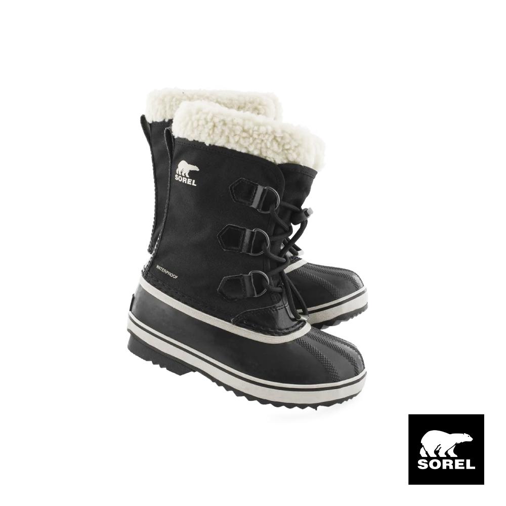 SOREL-YOOT PAC 大童運動靴-黑色