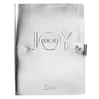 Dior迪奧JOY By Dior愉悅銀色皮革記事本