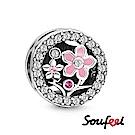 SOUFEEL索菲爾 925純銀珠飾 三生三世 串珠