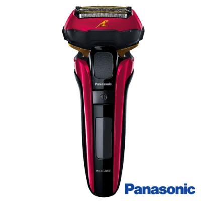 回函送電動牙刷Panasonic 國際牌 5刀頭超高速磁力電動刮鬍刀 ES-LV5C-R