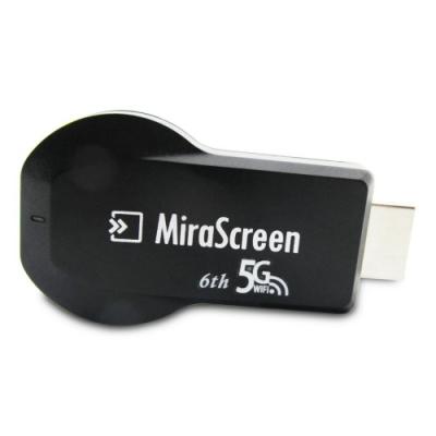 六代MiraScreen-5G 高畫質無線影音傳輸器(送5大好禮)