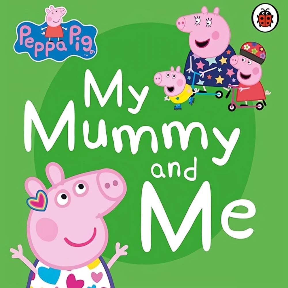 Peppa Pig:My Mummy And Me 佩佩豬和媽媽豬玩遊戲硬頁書