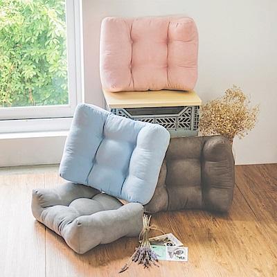 完美主義 超值4入組/第二代加大加寬萬用靠腰衴/紓壓枕(4色)