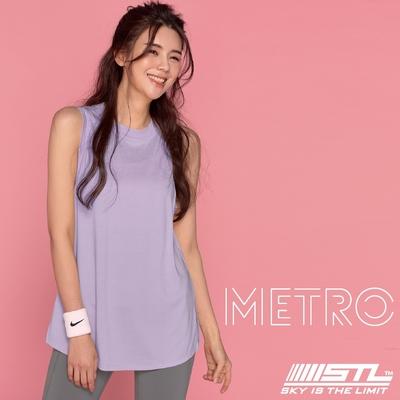STL YOGA METRO SL 韓國瑜珈 地鐵Nashi 運動機能訓練無袖背心上衣 薰衣草粉紫PastelLavender
