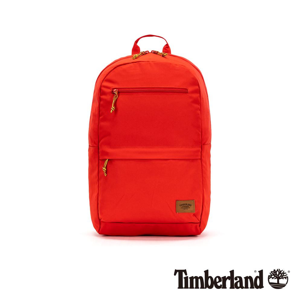 Timberland 紅色拉鍊後背包|A1CS9