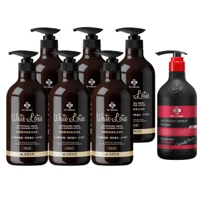 台塑生醫Dr's Formula沐浴乳800g6瓶+贈洗髮精580g1瓶