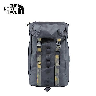 The North Face北面灰色輕便休閒雙肩背包|3KUT03B