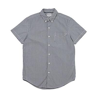 Timberland 男款黑色短袖襯衫 | A1LY1B68