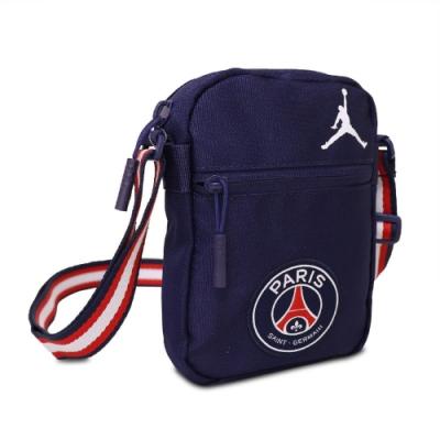 Nike 斜背包 Festival Bag 休閒小包 男女款 巴黎聖日耳曼 輕便 外出 背帶可調 藍 白 JD2123008GS001