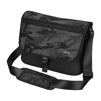 HAKUBA PLUSSHELL SLIMFIT02(M)側背包(迷彩黑/HA205893