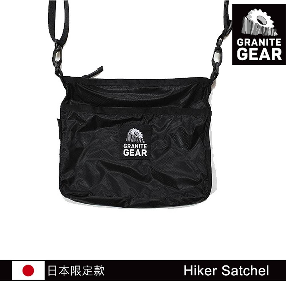 【日本限定款】Granite Gear 1000135 Hiker Satchel 輕便收納側背包 / 黑色