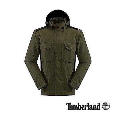 Timberland 男款橄欖綠透氣耐磨M65外套|A1A1G