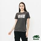 ROOTS女裝  加拿大國旗短袖T恤 -灰
