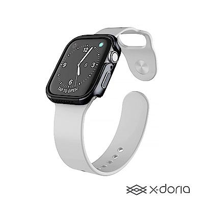 x-doria Apple Watch 44mm 保護殼 DEFENSE 刀鋒系列 鋼鐵灰
