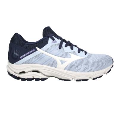MIZUNO WAVE INSPIRE 16女慢跑鞋-WIDE-寬楦 美津濃 J1GD204613 粉紫白丈青