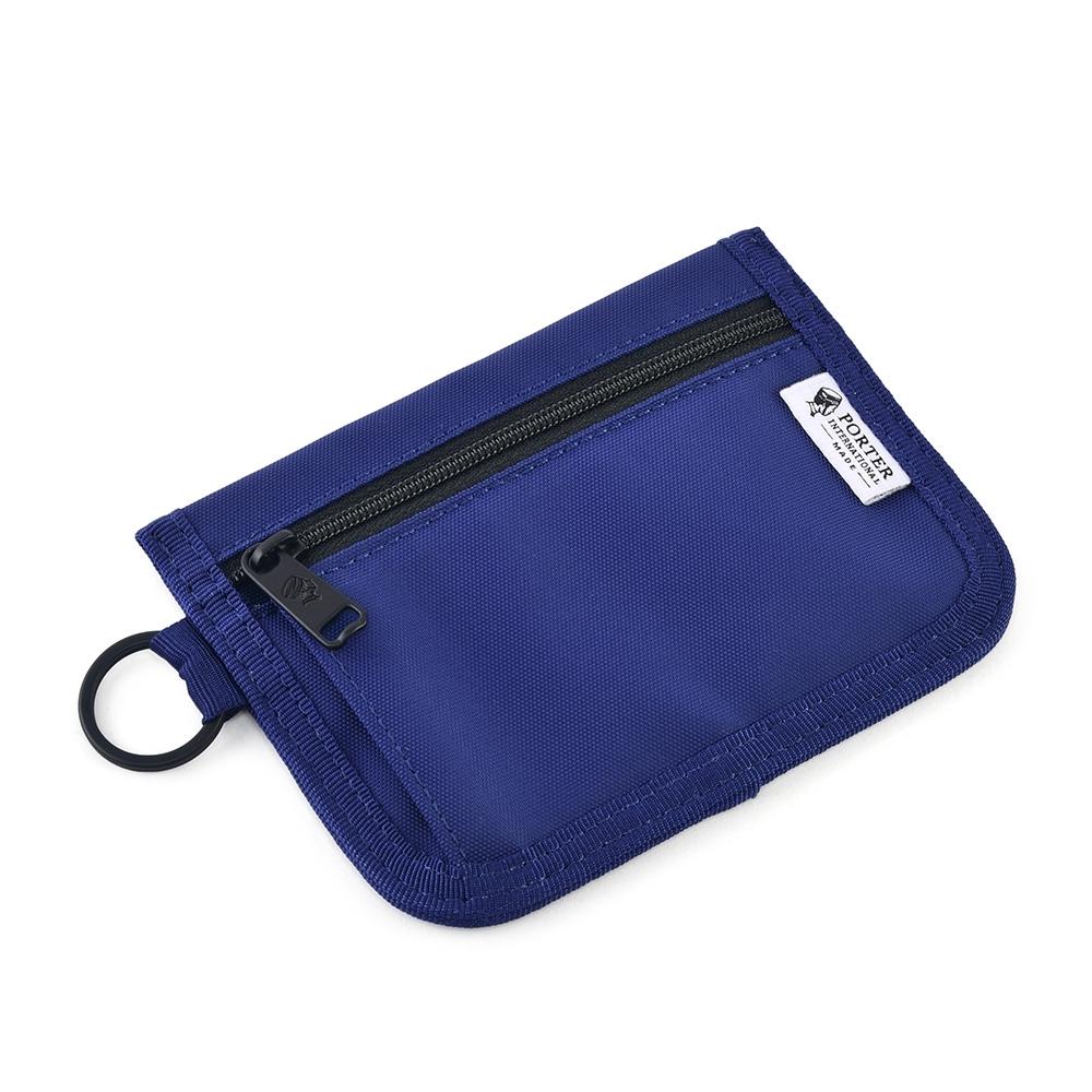 [加價購]PORTER - 零錢包(M) - 藍