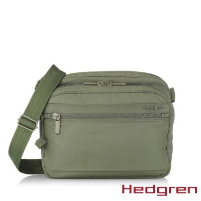 【Hedgren】INNER CITY層層收納 側背包-橄欖綠