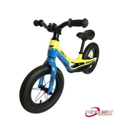 KREX 雙色輕量兒童滑步車 黃藍