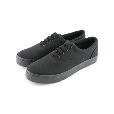 ARRIBA艾樂跑男女鞋-基本款帆布鞋-黑(AB7011)