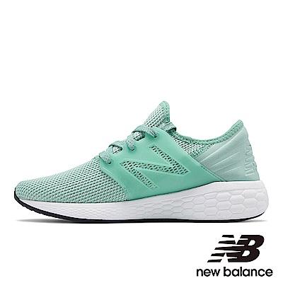 New Balance 緩震跑鞋 WCRUZRM2 女 蘋果綠