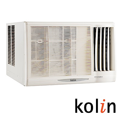 KOLIN 歌林 3-4坪「節能不滴水」右吹窗型冷氣 KD-232R06