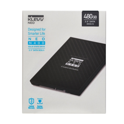 【KLEVV 科賦】 NEO N400 480GB 2.5吋 SATAIII 7mm固態硬碟