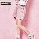 Balabala巴拉巴拉-彈性腰圍俏麗小短褲-女(2色)