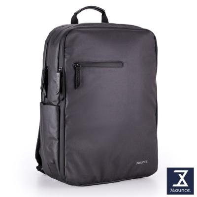 74盎司 Witty 休閒商務電腦後背包(15吋)[G-1058-WI-M]黑