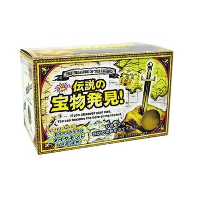 日本NOL-傳說寶物趣味磚7入-試試手氣挖鑽石原石!採隨機出貨(聖誕禮物/交換禮物)