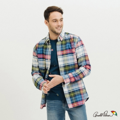 Arnold Palmer-男裝-牛津格紋棉質襯衫