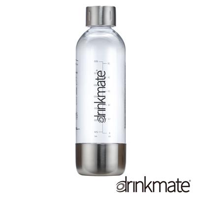 美國Drinkmate 氣泡水機專用不鏽鋼水瓶1L