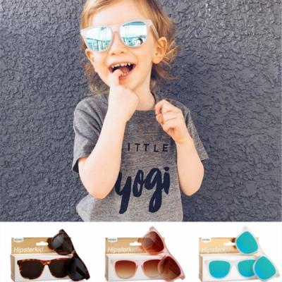 美國Hipsterkid 抗UV偏光嬰幼兒童太陽眼鏡(附固定繩) - 奢華