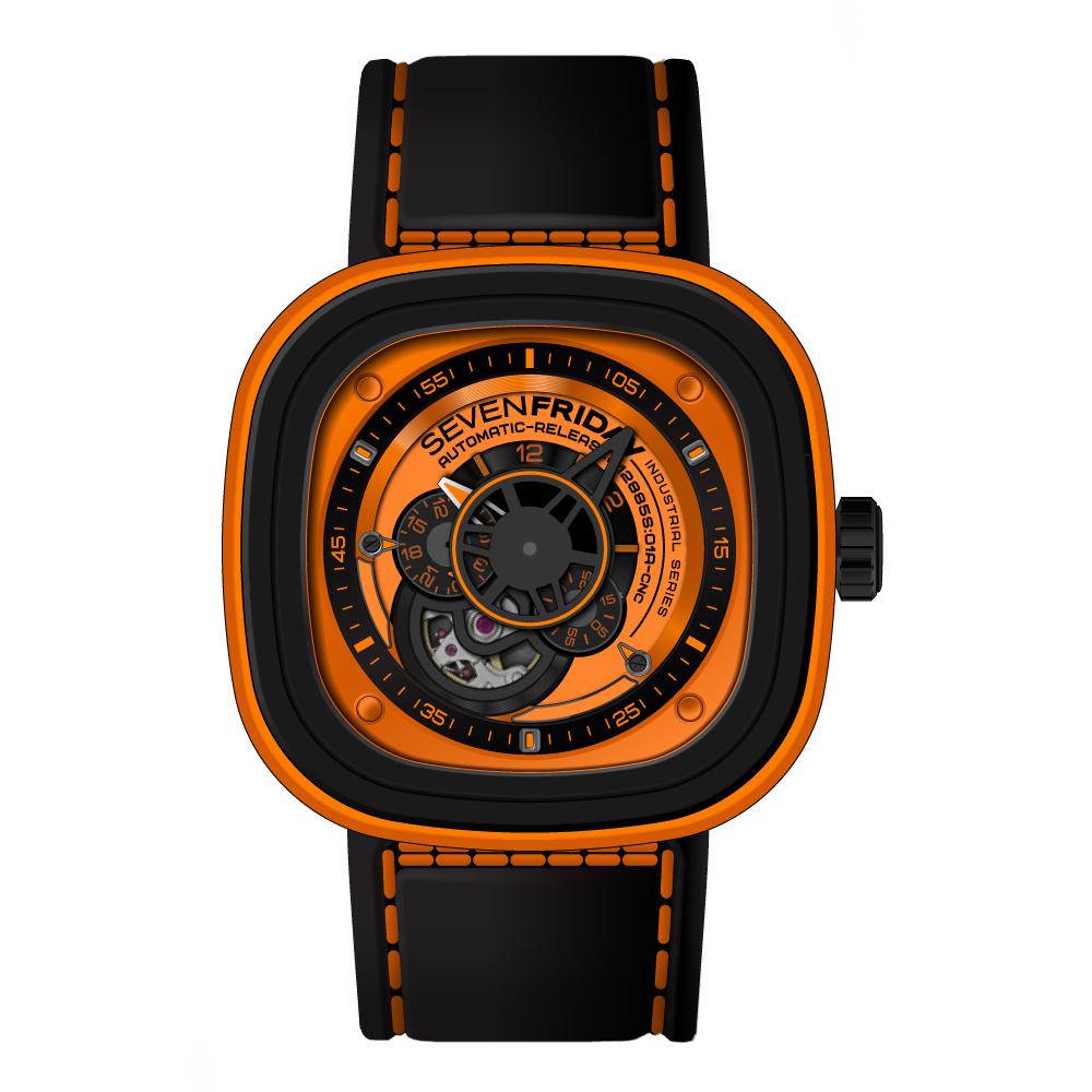 SEVENFRIDAY P1-3 潮流新興瑞士機械腕錶