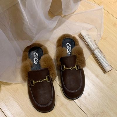 KEITH-WILL時尚鞋館-韓國氣質小星星穆勒托鞋-棕色