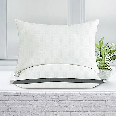 澳洲Simple Living 柔力鋼獨立筒釋壓彈力枕-二入(台灣製)