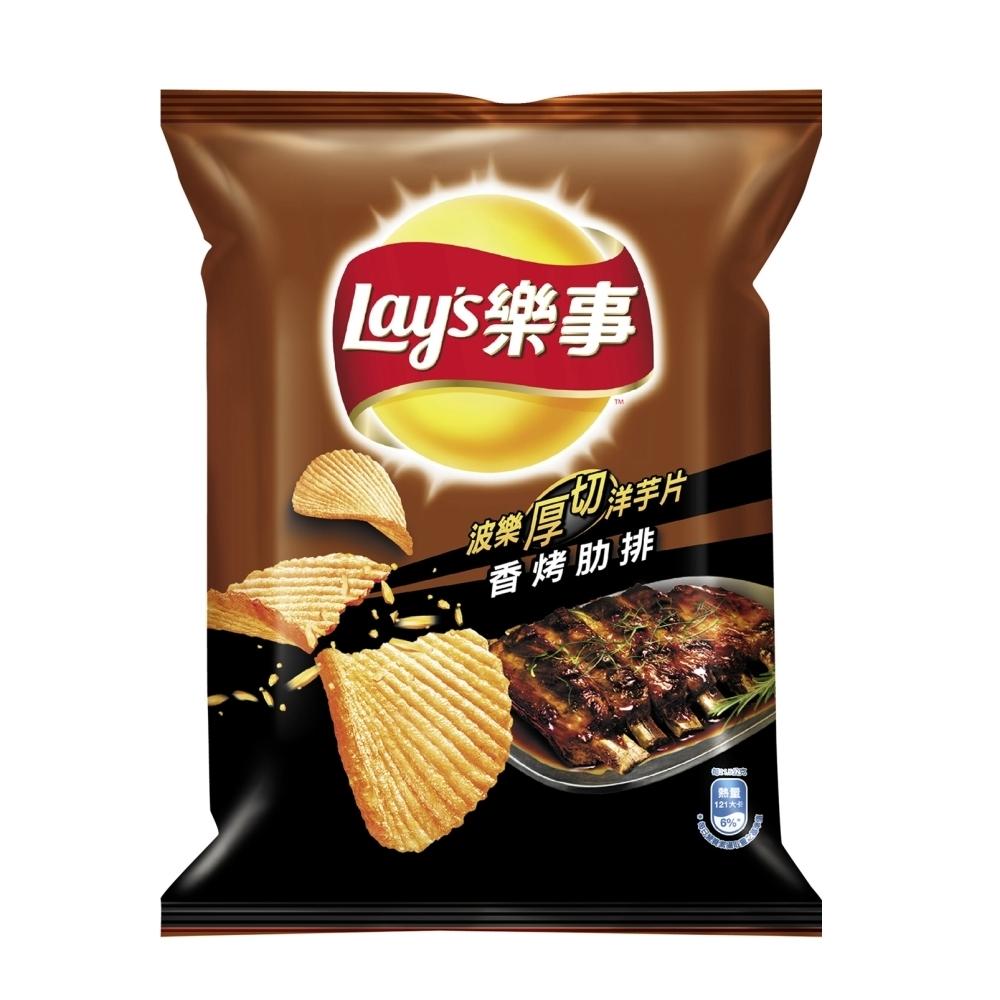 樂事 波樂香烤肋排味洋芋片(43g)