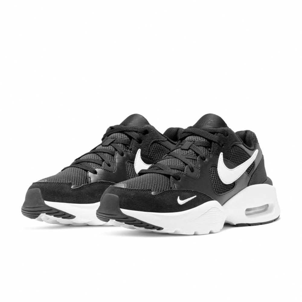 NIKE 慢跑鞋 氣墊 減震 休閒 運動 健身 男鞋 黑白 CJ1670002 NIKE AIR MAX FUSION