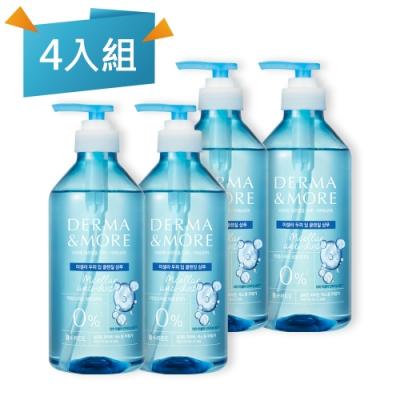 Derma&More 賦活髮絲淨化洗髮精600ml (4入組)