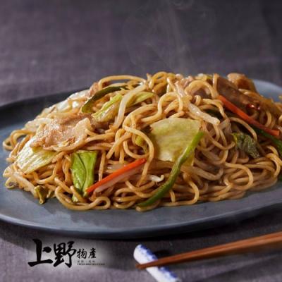 【上野物產】大阪醬燒大盛炒麵(325g±10%/麵體+醬料/包)x16包
