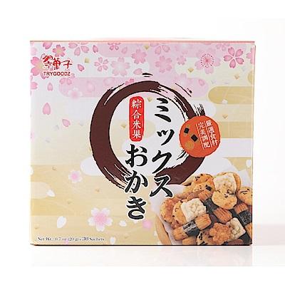 (活動)翠菓子 航空米果綜合禮盒(600g)