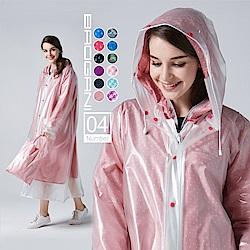 【寶嘉尼 BAOGANI】B04 雙層雨衣 -  圓點